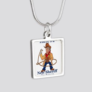 Trump New Sheriff 2017 Necklaces