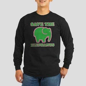 elephants4-17 Long Sleeve T-Shirt