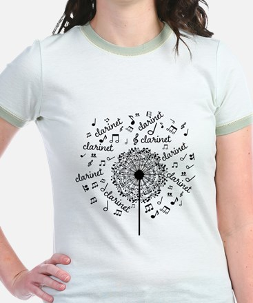 Clarinet Player Music T-Shirt