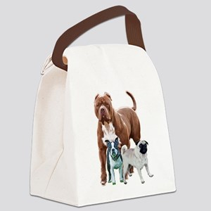 The dog posse Canvas Lunch Bag