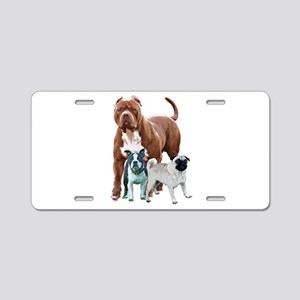 The dog posse Aluminum License Plate