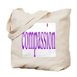 300. compassion [purple] Tote Bag