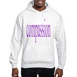 300. compassion [purple] Hooded Sweatshirt