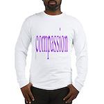 300. compassion [purple] Long Sleeve T-Shirt