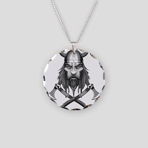 Viking Warrior Head Necklace