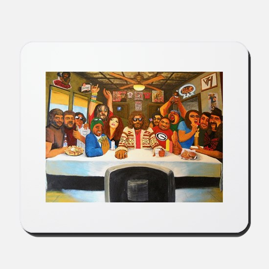 Last Supper Mania with The Dictatortots Mousepad
