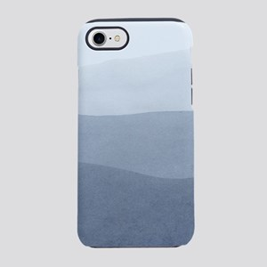 Tranquil Gray Watercolors gr iPhone 8/7 Tough Case