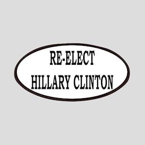 Re-elect Hillary Clinton Progressive Patch