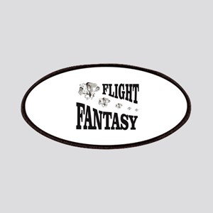 flight fantasy stamp Patch