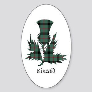Thistle - Kincaid Sticker (Oval)