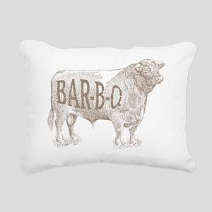 Barbecue BEEF Rectangular Canvas Pillow
