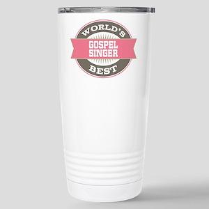 gospel singer Stainless Steel Travel Mug