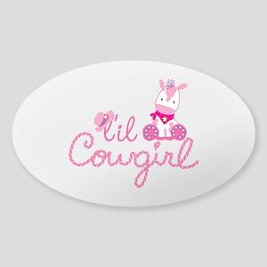 Lil Cowgirl Sticker