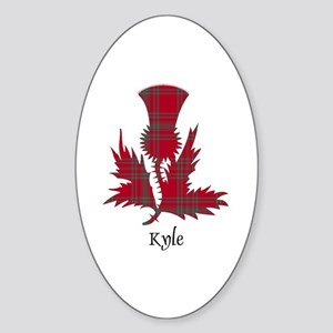 Thistle - Kyle Sticker (Oval)
