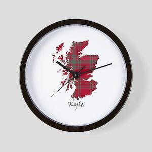 Map - Kyle Wall Clock