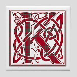 Monogram - Kyle Tile Coaster