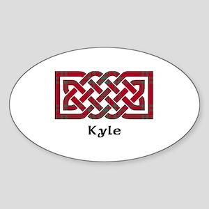 Knot - Kyle Sticker (Oval)