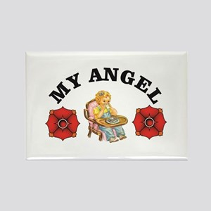 heavens my angel Magnets