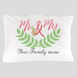 Personalized Wedding Pillow Case