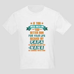 Funny PAPA & NANA Design T-Shirt