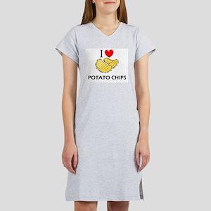 I Love Potato Chips T-Shirt