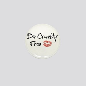 Be Cruelty Free Mini Button
