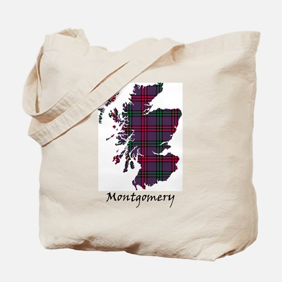Map - Montgomery Tote Bag