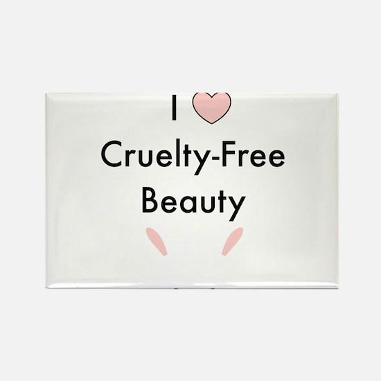 I love cruelty free beauty Magnets