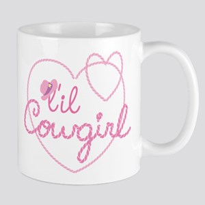 Lil Cowgirl Heart Mugs