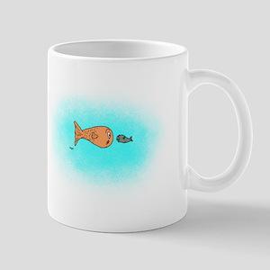 Fish Bait Cartoon Mug