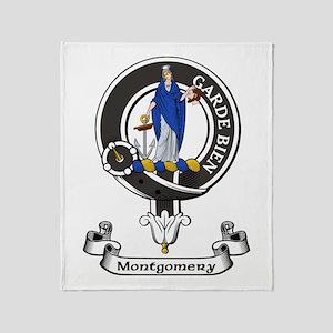 Badge - Montgomery Throw Blanket