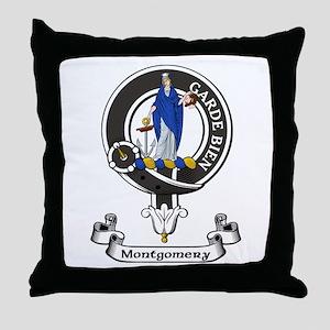 Badge - Montgomery Throw Pillow