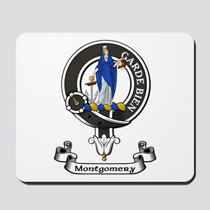 Badge - Montgomery Mousepad