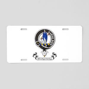 Badge - Montgomery Aluminum License Plate