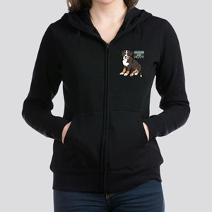 Sitting Bernese Mountain Dog Sweatshirt