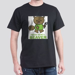 Proud To Be A Beaver Ash Grey T-Shirt