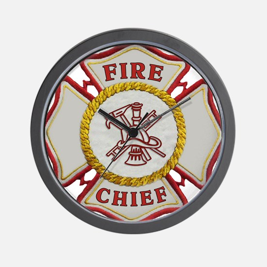Cute Firefighting Wall Clock