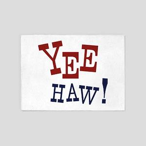 Yee Haw! 5'x7'Area Rug