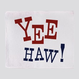 Yee Haw! Throw Blanket