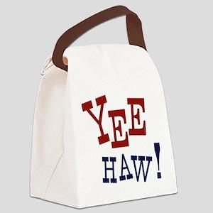 Yee Haw! Canvas Lunch Bag