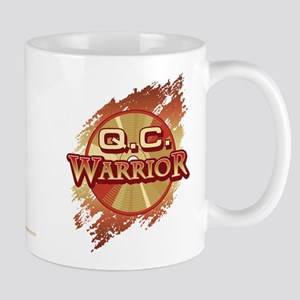 """Q.C. Warrior"" Mugs"
