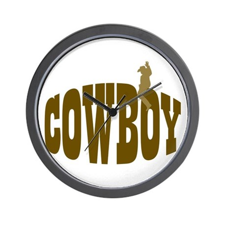 RIDE THE RODEO Wall Clock