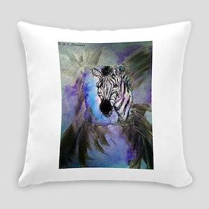 Zebras! Wildlife art! Everyday Pillow