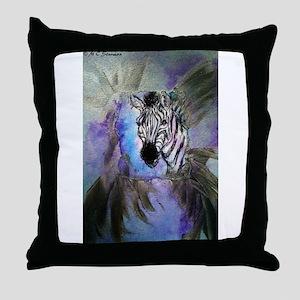 Zebras! Wildlife art! Throw Pillow
