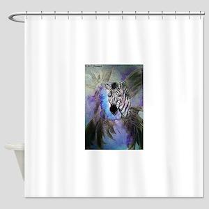 Zebras! Wildlife art! Shower Curtain