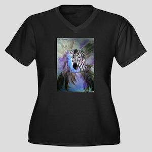 Zebras! Wildlife art! Plus Size T-Shirt