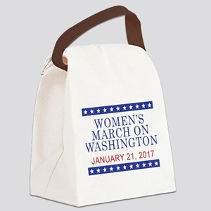 WOMEN'S MARCH ON WASHINGTON Canvas Lunch Bag