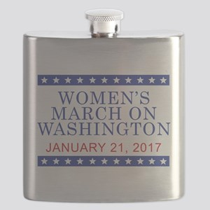 WOMEN'S MARCH ON WASHINGTON Flask