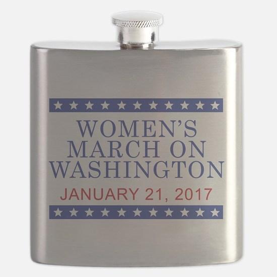 WOMEN'S MARCH ON WASHINGTON Flask