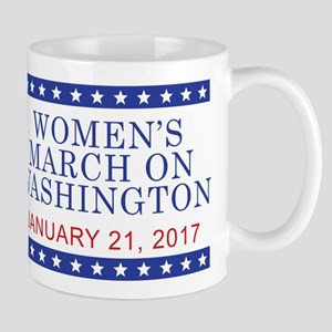 WOMEN'S MARCH ON WASHINGTON Mugs